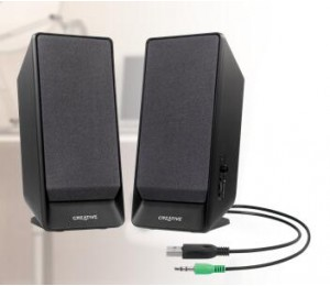 Creative Speaker: Sbs A50 Usb Powered 2.0 Desktop Speakers Sbs-A50