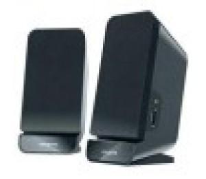 Creative Speakers: 2.0 Black 2 X2w Rms/ Channel Built-in Bass Port Sbsa60