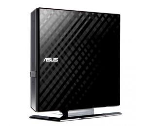 ASUS SDRW-08D2S-U LITE Black Diamond Cut External DVD & CD Writer [90-DQ0435-UA317KZ] ASUS-90-DQ0435-UA317KZ