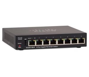 Cisco (Sg250-08Hp-K9-Au) Cisco Sg250-08Hp 8-Port Gigabit Poe Smart Switch Sg250-08Hp-K9-Au