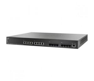Cisco (Sg550Xg-8F8T-K9-Au) Cisco Sg550Xg-8F8T 16-Port 10G Stackable Managed Switch Sg550Xg-8F8T-K9-Au