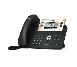 Yealink Sip-T27G - 6 Line Ip Phone 240X120 Lcd 21 Program Keys/ Blf/ Xml/ Poe/ Hdv/ Ehs Support/