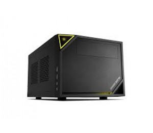 "Sharkoon C10 Mini-itx Case 1x 5.25"" Drive Bays , 1x 3.5""/ 2.5"" Bays For Hdds/ Ssd, Front I/ O:"