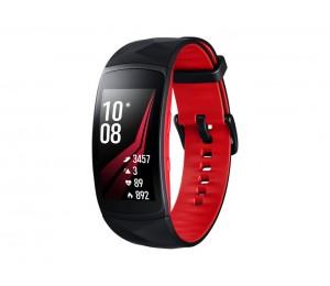 Samsung Gear Fit2 Pro - Large -black + Red Sm-r365nzraxsa