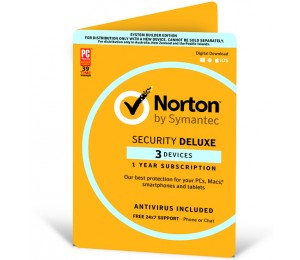 Norton Security Deluxe 3.0 Au 1 User 3 Device 12mo Card Attach 21368742