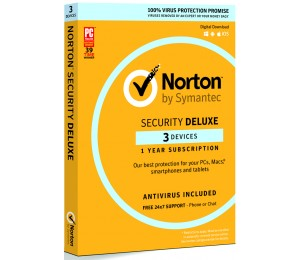 Norton Security Deluxe 3.0 Au 1 User 3 Device 12mo Retail 21380052