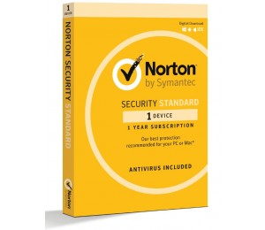 Norton Security Standard 2 Device Retail Box - Compatible with PC, MAC, Android, iOS 1 Year 21369607