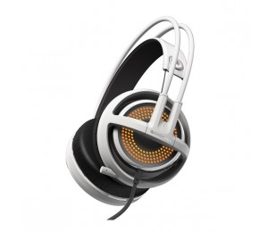 Steelseries White Siberia 350 Usb Headset Ss-51204