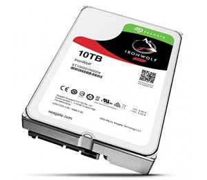 SEAGATE IRONWOLF 10TB NAS 3.5IN 7200RPM 6Gb/ S SATA 256MB ST10000VN0004