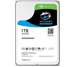 SEAGATE SKYHAWK 1TB SURVEILLANCE 3.5IN 6Gb/ S SATA 64MB, 5900RPM ST1000VX005