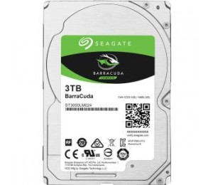 "SEAGATE BARRACUDA 2.5"" 3TB SATA 6GB/S 5400RPM 128MB CACHE 15MM ST3000LM024"