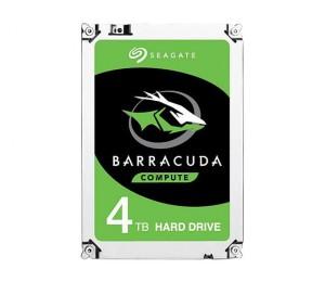 SEAGATE BARRACUDA 4TB DESKTOP 3.5IN 6Gb/ S SATA 64MB ST4000DM004