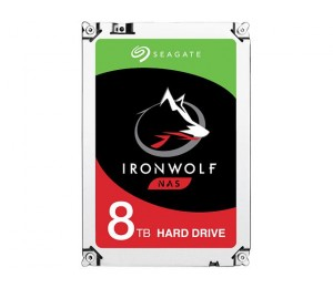 SEAGATE IRONWOLF 8TB NAS 3.5IN 7200RPM 6Gb/S SATA 256MB ST8000VN0022