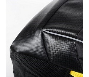 "Access Backpack For Up To 18"" Nb Black With Yellow Linings Nylon 210d Water Resistant Stc-pybak-17"
