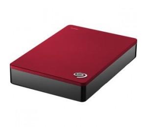 "SEAGATE BACKUP PLUS PORTABLE 2.5"" 4TB EXTERNAL USB3.0 HARD DRIVE (RED) 3YR STDR4000303-MS"