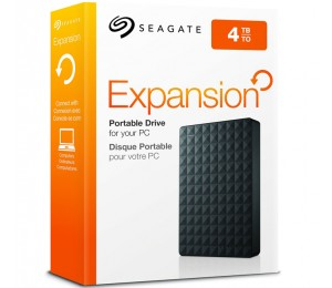 "Seagate Portable 2.5"" Drive: 4tb Expansion Portable Drive Usb 3.0 Stea4000400"