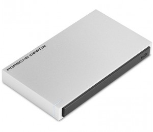 LaCie Porsche Design 1TB Portable Mobile HDD USB-C/ USB 3.0 Powered, Designed for Mac and PC