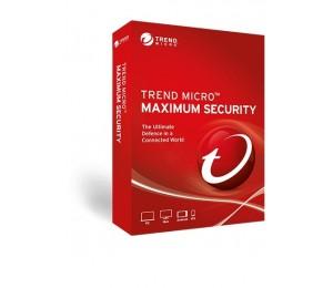 Trend Micro Maximum Security (1-5 Devices) 24Mth Retail