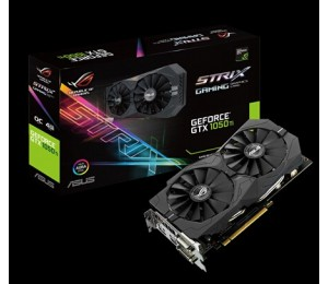 ASUS ROG Strix GeForce GTX 1050 Ti OC edition 4GB GDDR5 with ASUS Aura Sync & G-SYN for best 1080p gaming 90YV0A30-M0NA00