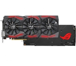 ASUS AMD Radeon RX580 8GB ROG Strix Aura Sync TOP Edition Gaming Graphics Card 90YV0AK1-M0NA00