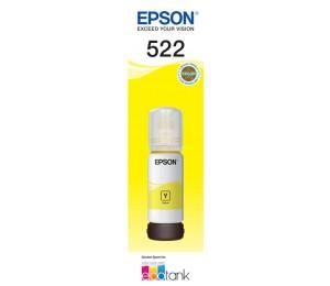 Epson 522 Yellow Ink Bottle - Et-2710 C13t00m492