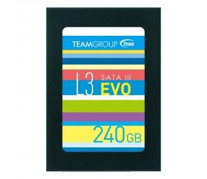 """Team 2.5"""" Std Sata3 L3 Evo 7mm 240gb T253le240gtc101"""