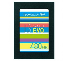 """Team 2.5"""" Std Sata3 L3 Evo 7mm 480gb T253le480gtc101"""