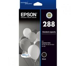 EPSON 288 Std Capacity DURABrite Ultra Black ink XP-240 XP-340 XP-344 XP-440 C13T305192