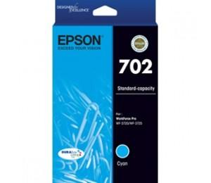 EPSON 702 Std Cyan Ink DURABrite - WF-3720 WF-3725 C13T344292