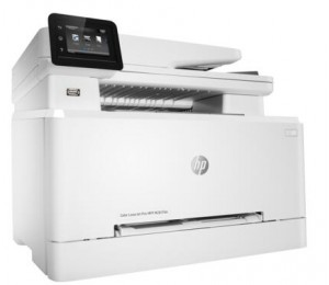 Hp Color Laserjet Pro Mfp M281fdn (t6b81a) Print Copy Scan Fax Up To 21 Ppm 800 Mhz Duplex 256 Mb