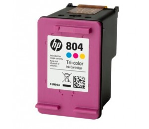 HP 804 TRI-COLOR ORIGINAL INK CARTRIDGE T6N09AA