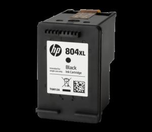 Hp 804xl Black Original Ink Cartridge T6n12aa