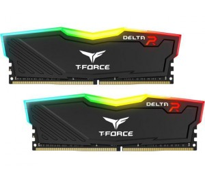 Team Delta Rgb 16Gb (2X8Gb) Ddr4 3000Mhz Black Tf3D416G3000Hc16Cdc01