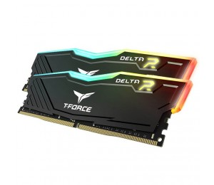 Team Delta Rgb 32gb (2 X 16gb) Ddr4 Dimm 3000mhz Black Tf3d432g3000hc16cdc01