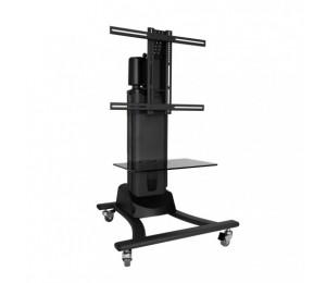 Atdec Th-emc Telehook Floor Motorised Tv Cart. Supports Max Weight To 50kg. Supports Universal