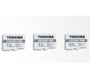 Toshiba 32gb Exceria Pro Microsdxc Uhs-1u3 With Adapter(r 95mb/ S W 80mb/ S) Thn-m401s0320a2