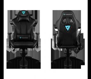 Aerocool Thunderx3 Rc3 Gaming Chair, Black, Inspired By Racing Cars Speed & Comfort, Rgb Light Module