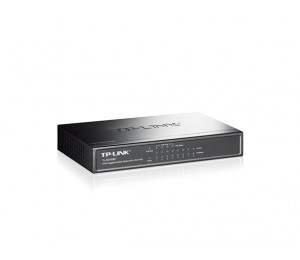 Tp-link 8-port Gigabit Desktop Poe Switch, 8 10/100/1000mbps Rj45 Ports Including 4 Poe Ports,