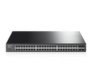 Tp-link 48-port Gigabit Poe+ Smart Switch 48 Gigabit Rj45 Ports Including 4 Sfp Ports 802.3at/af