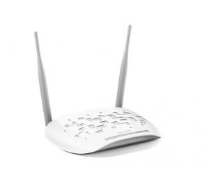TP-Link 300Mbps Wireless N Access Point w/ Passive PoE, AP/ Client/ Bridge/ Repeater Detachable