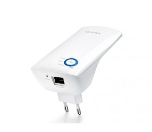 TP-Link Range Extender: 300Mbps Wireless N Wall Plugged Atheros, 2T2R, 2.4GHz, 802.11n/ g/ b TL-WA850RE