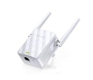 TP-LINK Range Extender: 300Mbps Wireless-N Wall Plugged Wi-Fi Range Extender 2x external 2.4GHz