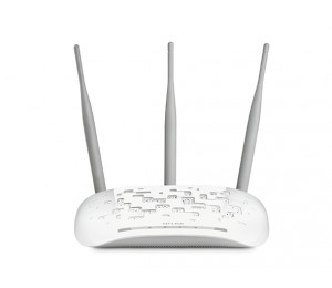 TP-Link Access Point: 450Mbps Advanced Wireless N Repeater w/ Passive PoE detachable antenna x3