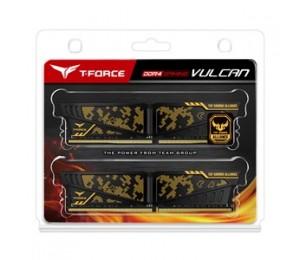 Team Tuf Gaming Alliance 32gb (2 X 16gb) Ddr4 3600mhz Dimm Yellow Heatspreader Tltyd432g3600hc19adc01