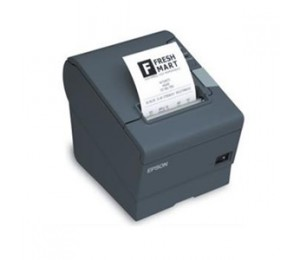 EPSON TM-T88IV RE-STICK ON-COUNTER COMPACT THERMAL RECEIPT PRINTER ETHERNET UB-E04DARK GREY INCLUDES