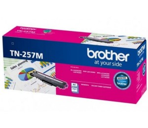 Brother Tn-257M Magenta High Yield Toner Cartridge To Suit - Hl-3230Cdw/ 3270Cdw/ Dcp-L3015Cdw/