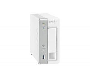 QNAP TS-131P 1BAY NAS, WITH WD 4TB(1 X 4TB) RED HDD (WD40EFRX) TS-131P-WD4TB