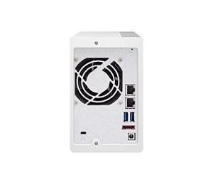 QNAP TS-231P2-4G NAS 2BAY (NO DISK) 4GB AL-314 QUAD CORE USB 3.0(3) GbE(2) TWR 2YR TS-231P2-4G