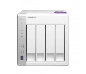 QNAP TS-431P 4-Bay TurboNAS, ARM Cortex-A15 dual-core 1.7Ghz, 1GB RAM, SATA 6Gb/ s, 2x GbE LAN,