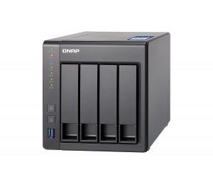QNAP TS-431X-8G NAS 4BAY (NO DISK) 8GB AL-212 QC USB GbE(2) 10GbE SFP+(1) TWR 2YR TS-431X-8G